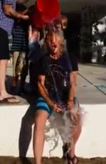 Brian Ray makes good on his Ice Bucket Challenge nominations